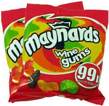 Maynards/Bassetts Wine Gums (2 Bags)