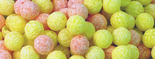Fizz Balls - Orange and Lemon