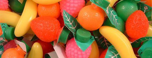 Sherbet Filled Fruits